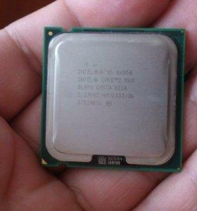 Intel Core 2 Duo E6550 2 ядра 2.33Ghz LGA775