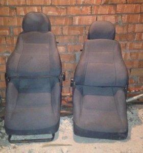 Передние и задние кресла