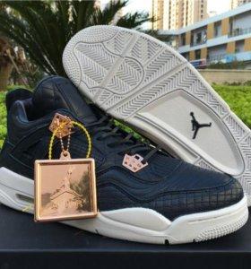 The Air Jordan 4 Retro Pinnacle 'Obsidian'