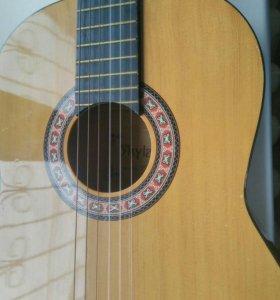 Гитара аккустическая струны неон!!!