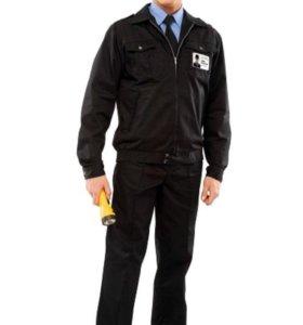 Летний костюм охранника (цвет чёрный)