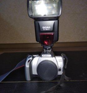 Зеркальный пленочный Фотоаппарат Canon EOS 300v +