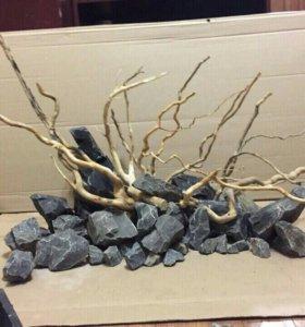 Камни для хардскейпа(акваскейпинга)