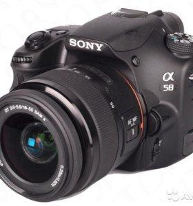 Sony A58 (20мп, поворот.экран)