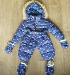 Детский комбинезон зимний