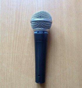 Микрофон shure sm-58 американец
