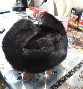 Новая норковая шапка - ушанка