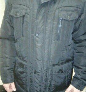 Мужская зимняя куртка.Новая.54-56
