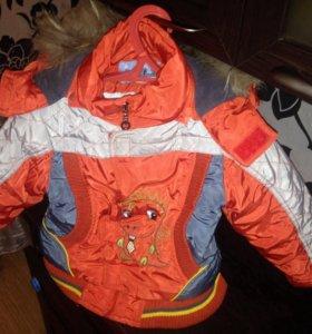 Куртка и полукомбинезон на мальчика