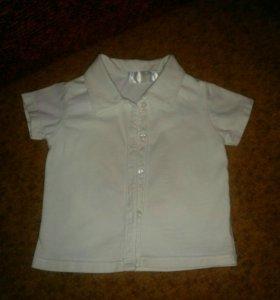 Рубашка 6-9 месяцев