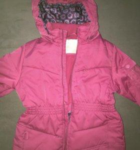 Куртка для девочек на 5-6 лет