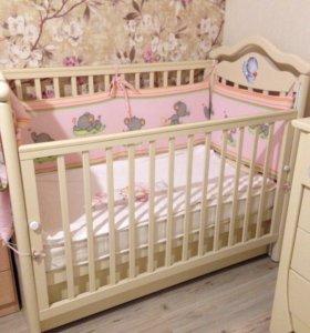 Детская кроватка Анжелика