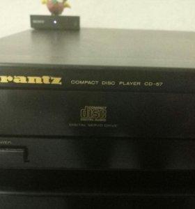 усилитель и cd плейер marantz pm-66se и CD-57