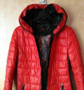 Куртка осень - евро зима 46р