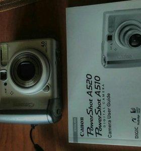 Фотоаппарат Canon PS A520