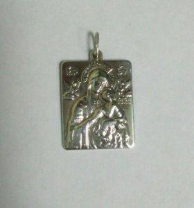 Иконка Серебро 925 пр