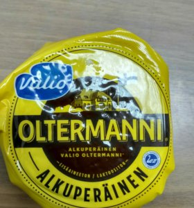 "Сыр из Финляндии ""Oltermanni"""