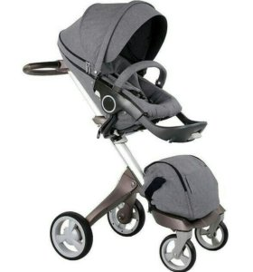 Новая коляска doux bebe