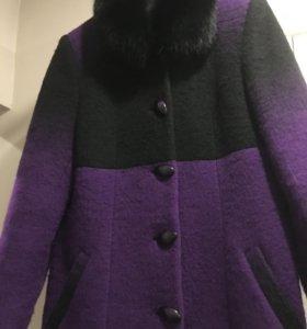Пальто зимнее 52+р-р