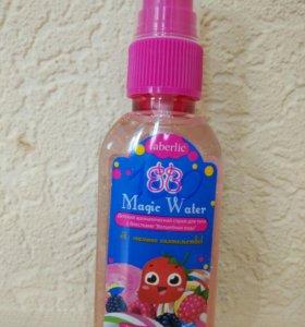 Детский ароматический спрей для тела с блестками