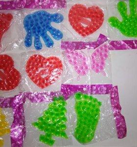 Мыльные пузыри, мини-коврик, форма