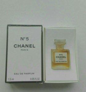 CHANEL 5 парфюм миниатюра