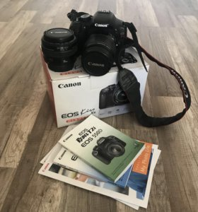 Canon 550d + объектив 18-55