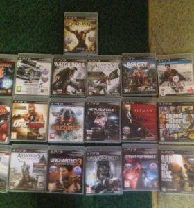 PS3 slim 500gb вместе с играми.