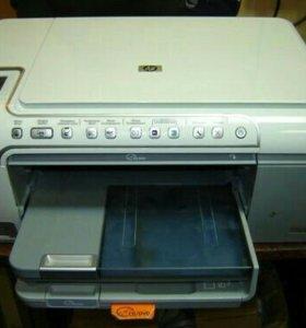 МФУ HP C5283 принтер сканер копир печать на cd
