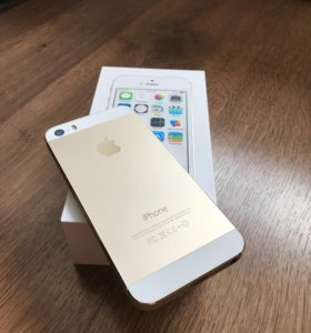 iPhone 5s, gold, 16 gb