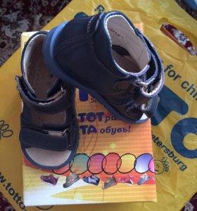 Туфли летние Тотто р 20