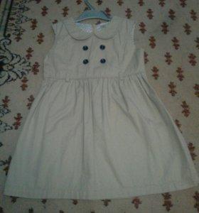 Платье-сарафан для девочки 116 см