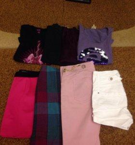 Пакетом женская одежда