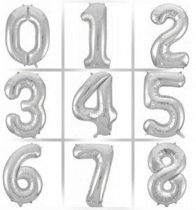 Фольгированные цифры