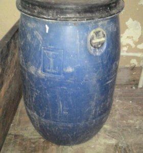 Бочка 60 литров с крышкой
