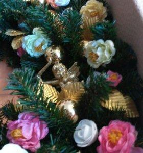 Венок новогодний ( рождественский)