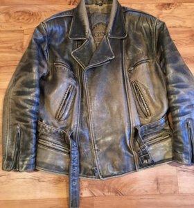 Кожаная куртка ( пилот) OCHNIK Мотокуртка