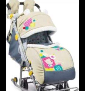 Санки - коляска Ника 7-2