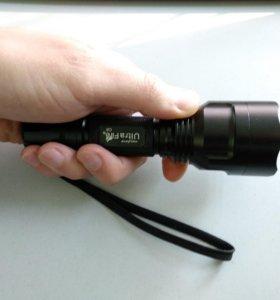 Мощный светодиодный фонарь UltraFire C8