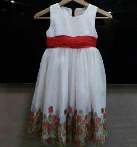 Платье на девочку 6-7 лет