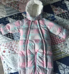 Детский зимний комбинезон Ledotte, 68 размер