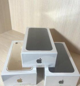 Iphone 7 32/128 гб (новые гарантия)