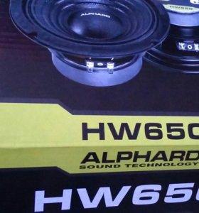 Alphard hw650,цена за пару