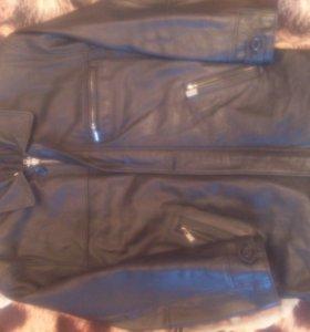 Куртка(кожа)50-52р