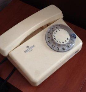 Телефон из СССР TELKOM RWT дисковый
