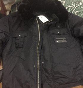 Куртка утеплённая мужская