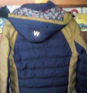 Куртка мужская зима размер L.