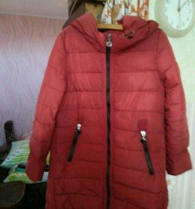 Пальто женское размер 52