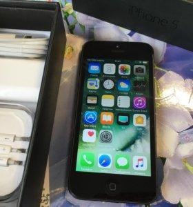 Iphone 5 16 гиг Черный