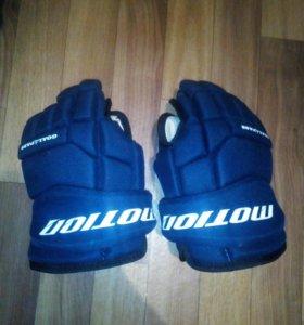 Краги для хоккея с шайбой.10-ы размер.